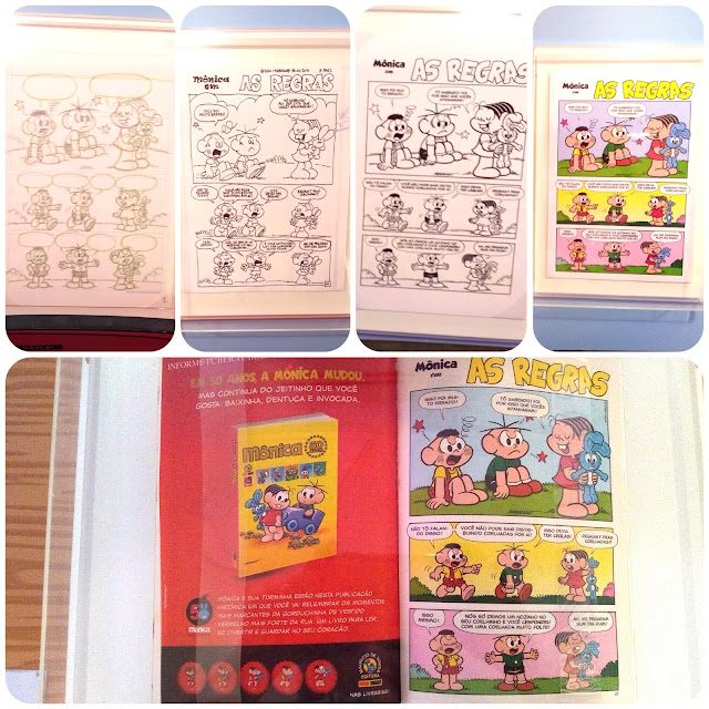 Peças da exposição 'Quadrinhos'