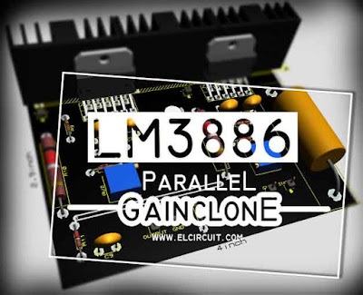 Paralleling Gainclone Power Amplifier LM3886
