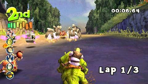 Shrek Smash N Crash Racing - Download Game PSP PPSSPP PSVITA Free
