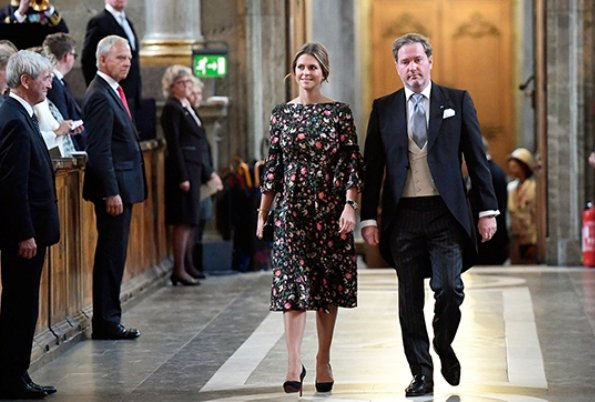Queen Silvia, Crown Princess Victoria, Prince Daniel, Prince Carl Philip, Princess Madeleine and Christopher O'Neill.