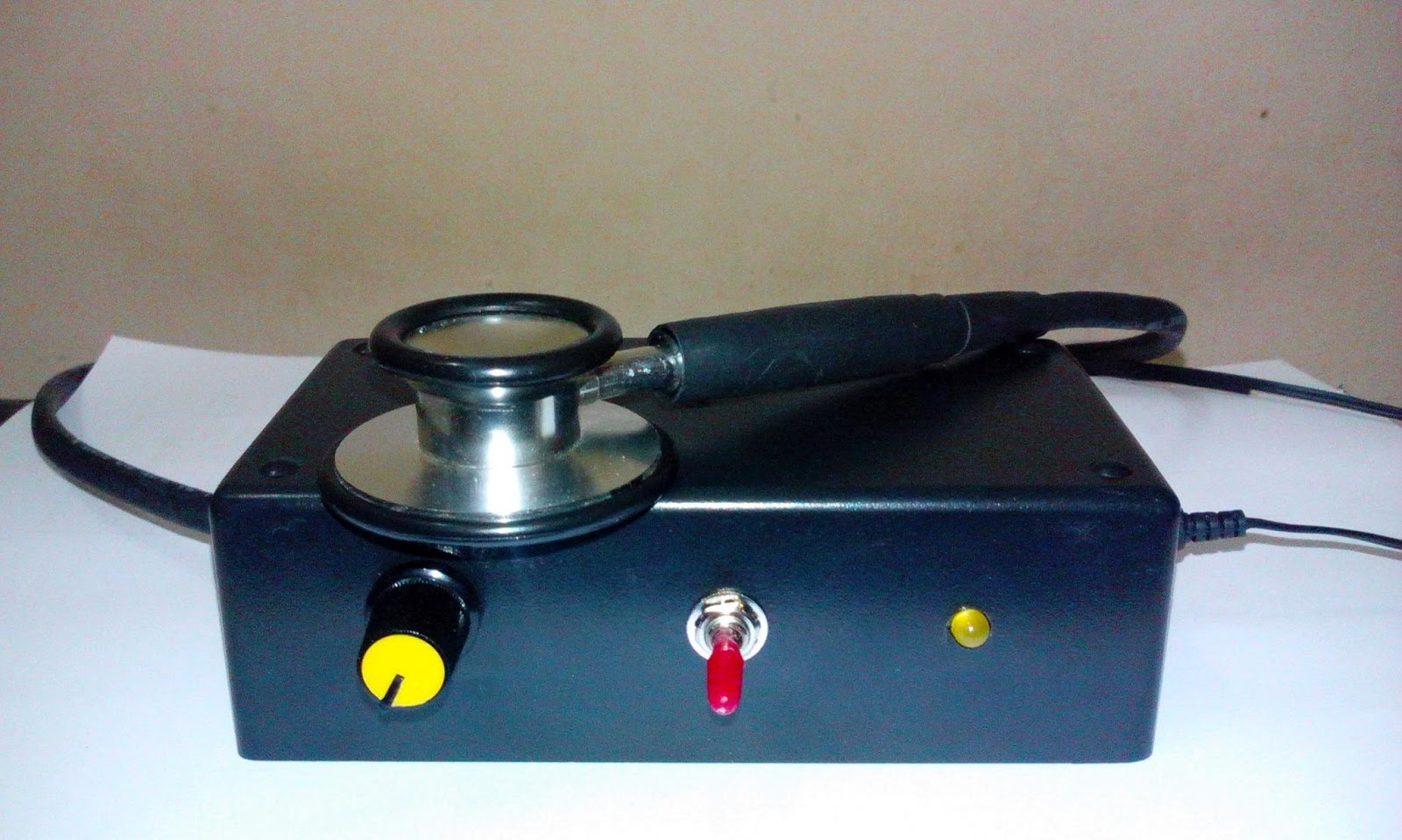 The Development Of Low Cost Electronic Stethoscope Auto