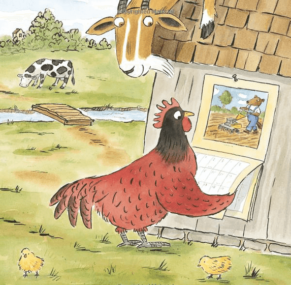 Book Review of The Little Red Hen and the Passover Matzah. Free activities included. GradeONEderful.com