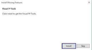 Installing Visual F# Tools 2