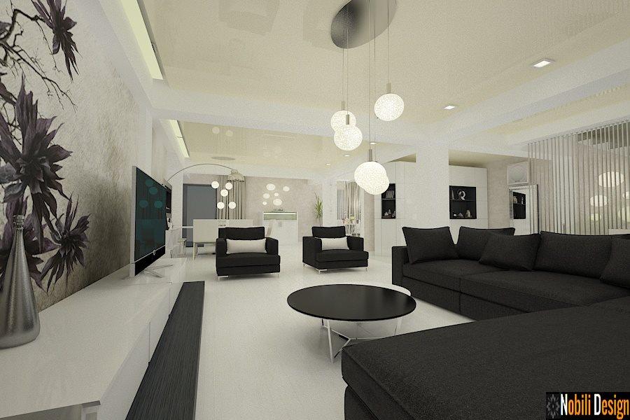 Design interior casa moderna in Constanta - Amenajari interioare case vile