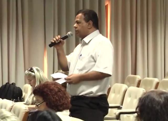Celso Rodrigo Branicio - Audiência Pública do Orçamento Estadual de SP 2018 - Diretor de Eventos da APPP - Associação de Participação Popular na Política - Evento Realizado na Câmara Municipal de Barretos-SP em 28-06-2017