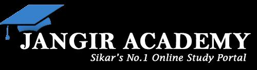 JANGIR ACADEMY | Online Study Portal