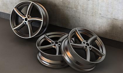 tire rim 3d model free