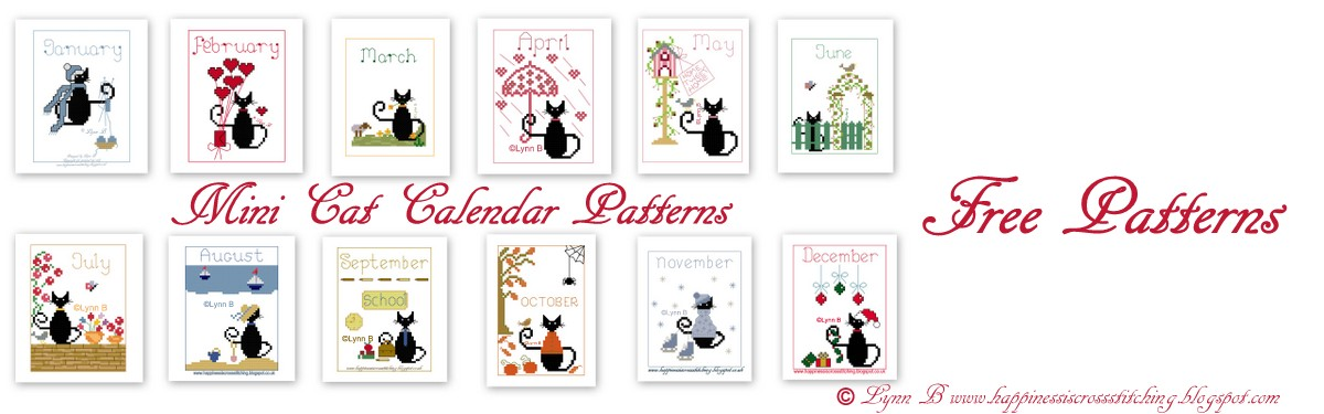 Click photo to see my free patterns on my cross stitch blog