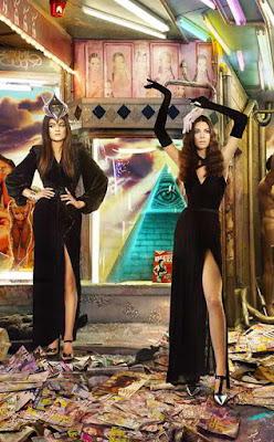 Kylie y Kendall Jenner pirámide Illuminati