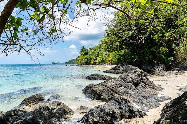 Autour de Nao Nao beach-Port Barton-Palawan-Philippines