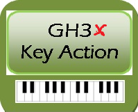 Yamaha GH3X key action pic