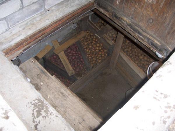 как сушить овощную яму