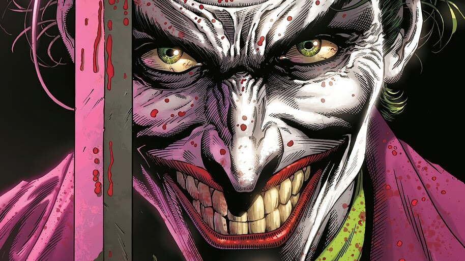 Joker, DC, Supervillain, 4K, #6.2102