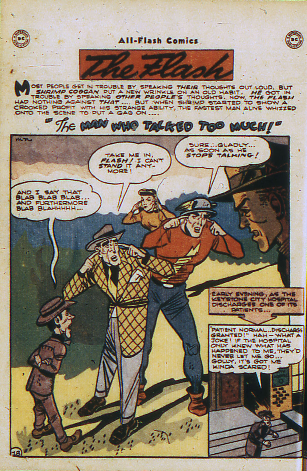 Read online All-Flash comic -  Issue #26 - 17