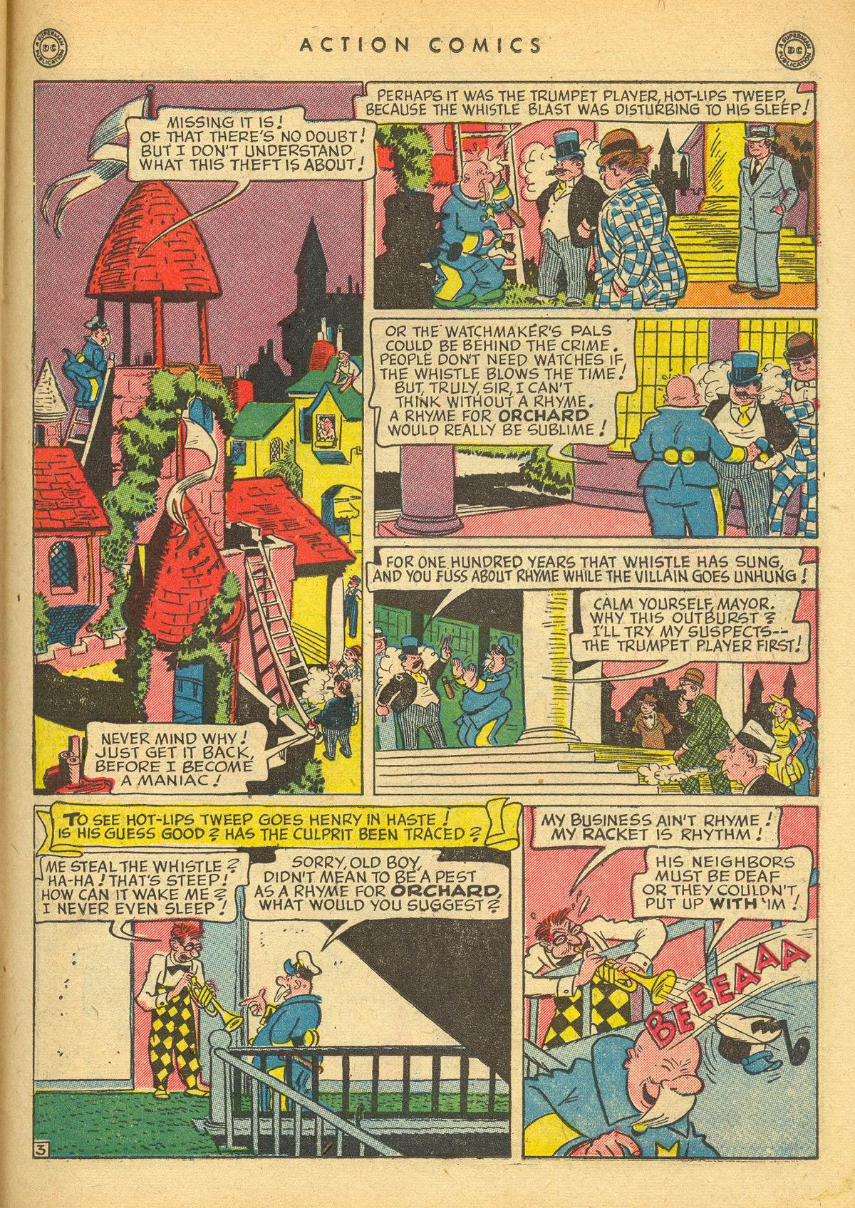 Read online Action Comics (1938) comic -  Issue #109 - 35