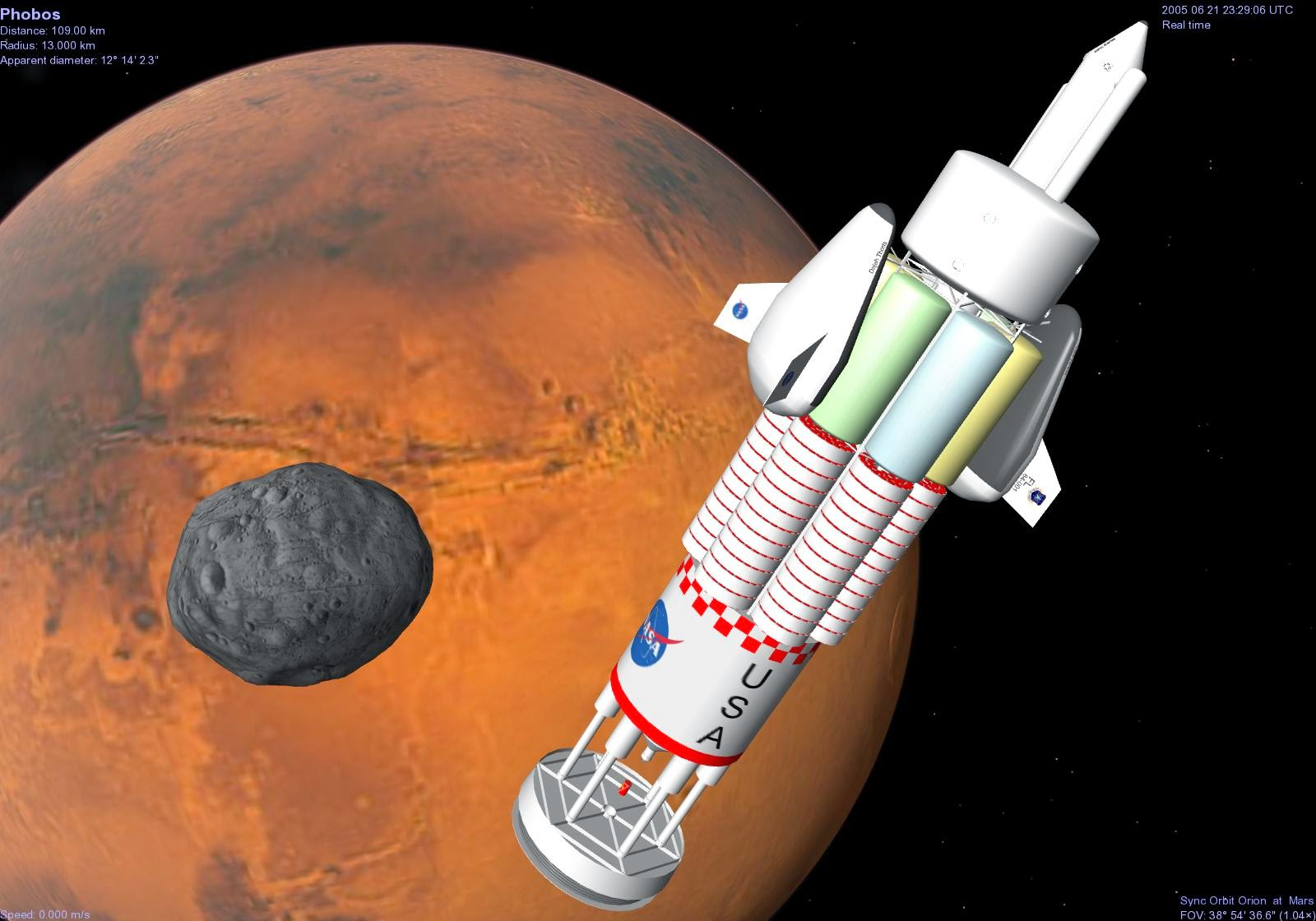 Far Future Horizons : Mission to Mars: Orion Nuclear ...