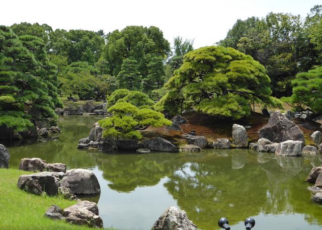 Jardines del palacio Nijo