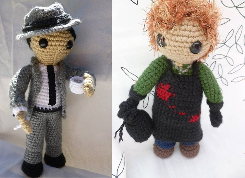 1890- Amigurumis: Freak - LABORES EN RED