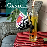 Citronella Candle by Over The Apple Tree