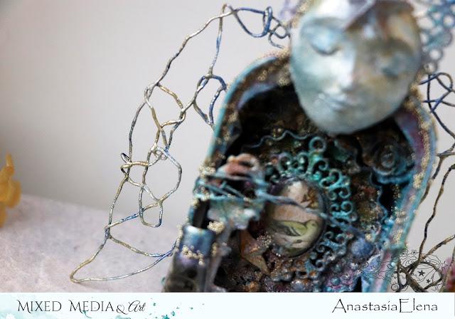 @nastyalena #mixedmedia #alteredart #scrapbooking