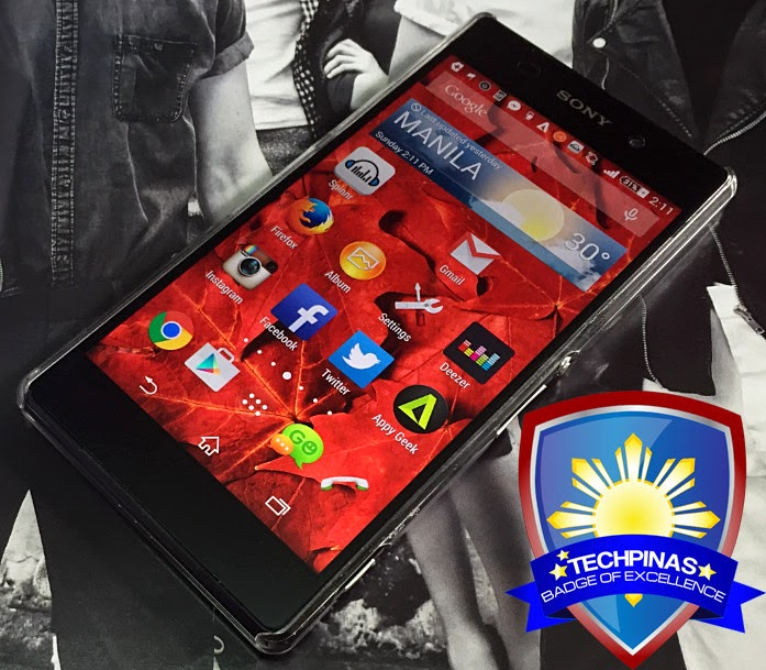 Sony Xperia Z2, Sony Xperia Z2 Philippines, TechPinas Badge of Excellence