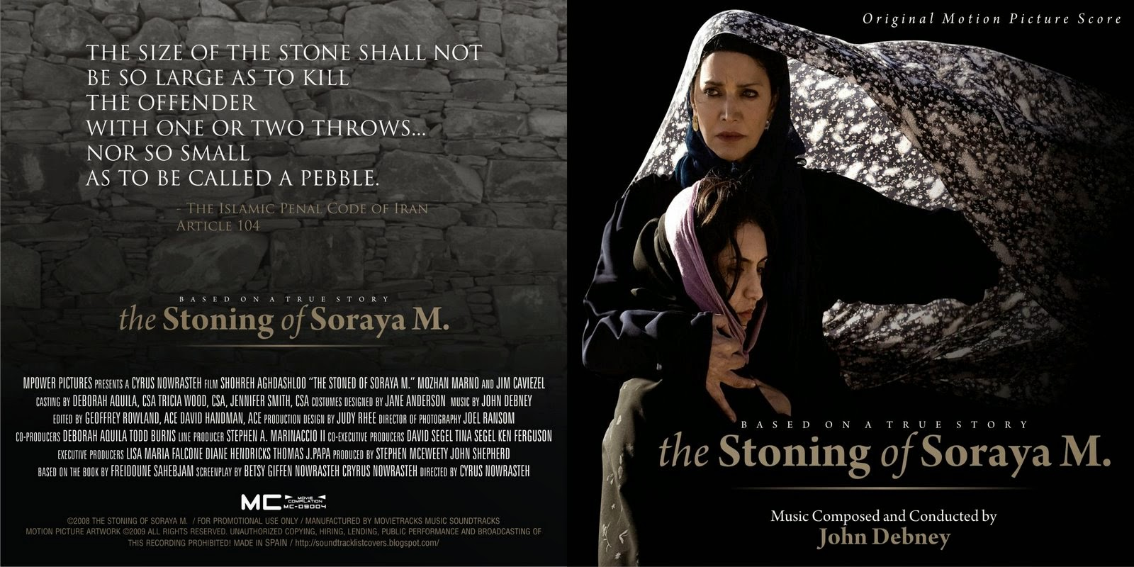 The Stoning Of Soraya, John Debney