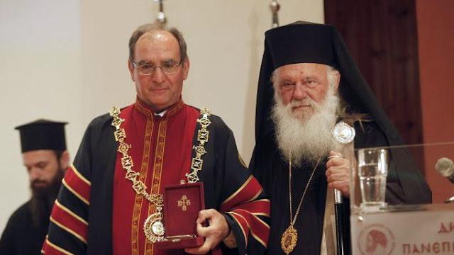 Επίτιμος διδάκτωρ του Δημοκρίτειου Πανεπιστημίου Θράκης αναγορεύτηκε ο Αρχιεπίσκοπος Ιερώνυμος