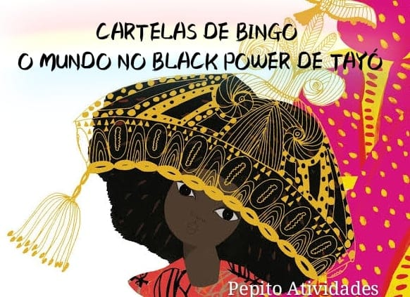 Cartelas para Bingo O Mundo no Black Power de Tayó.