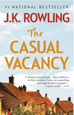 The Casual Vacancy by J.K. Rowling - book cover