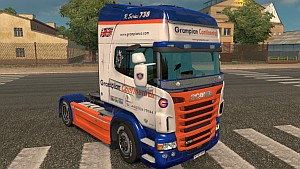 Scania RJL Grampian Continental skin