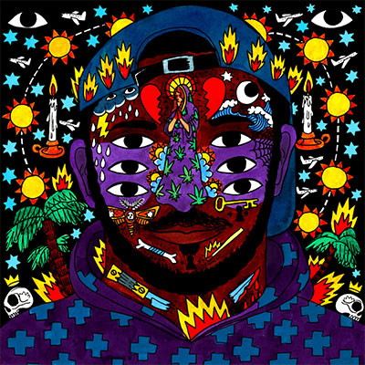The 10 Worst Album Cover Artworks of 2016: 08. Kaytranada - 99.90%