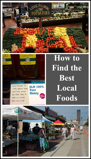 Suggestions for sourcing the best local fruits, vegetables, eggs and meats