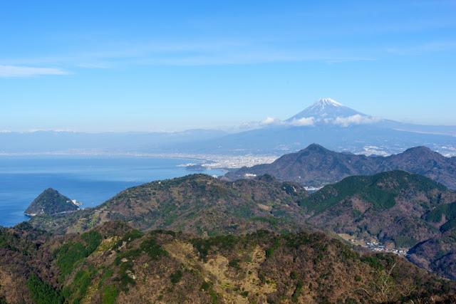 駿河湾と富士山~伊豆の国パノラマパーク(葛城山)