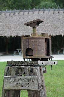 Antigua prensa de caña
