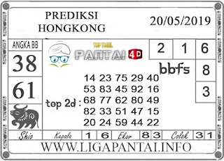 """Prediksi Togel """"HONGKONG"""" PANTAI4D 20 MEI 2019"""
