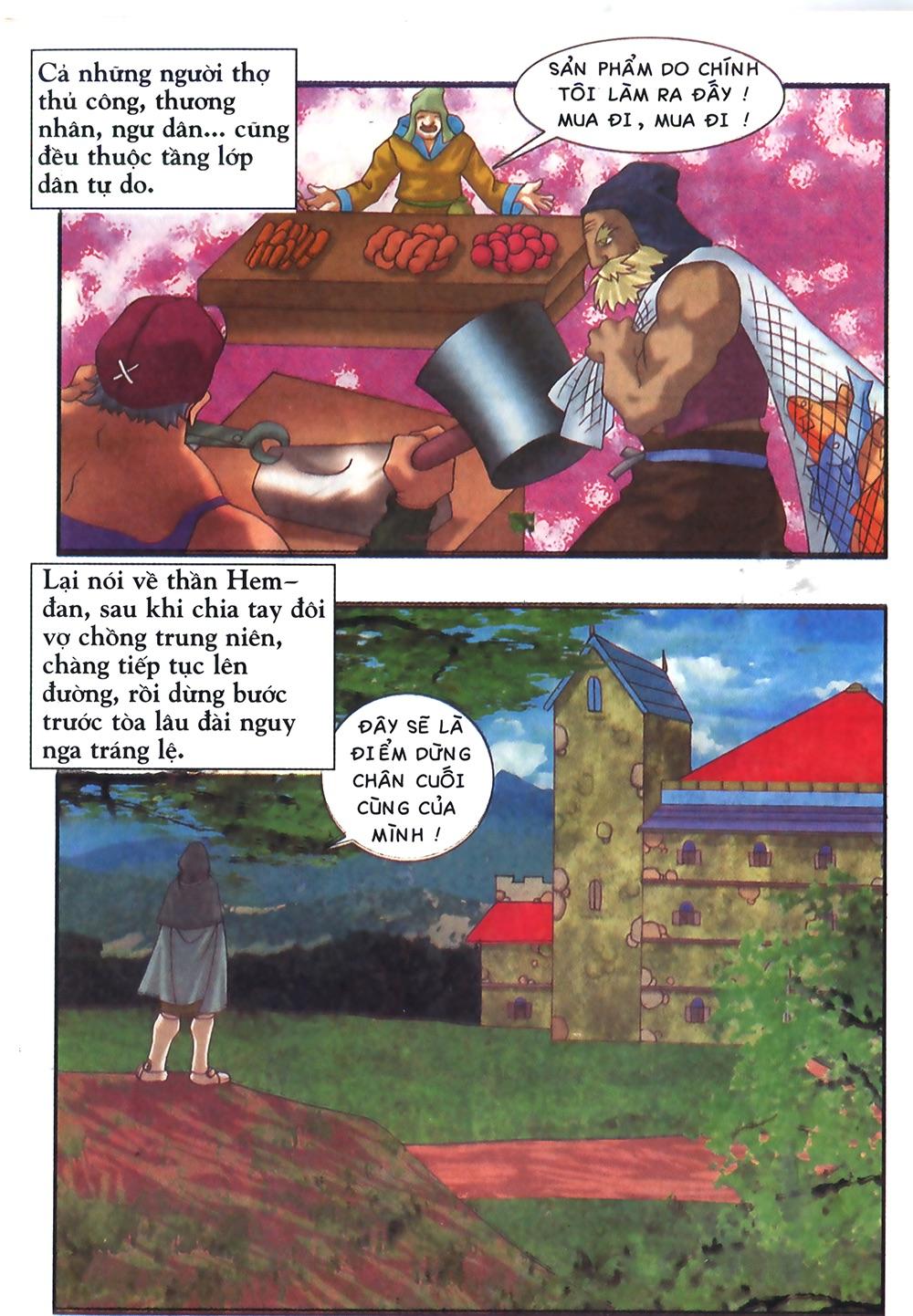 Thần thoại Bắc Âu - Chapter 38: Sứ mệnh đặc biệt - Pic 39