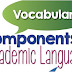 Academic Vocabularies & Grammar