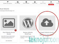 Cara Upload Website sendiri di hosting Gratis