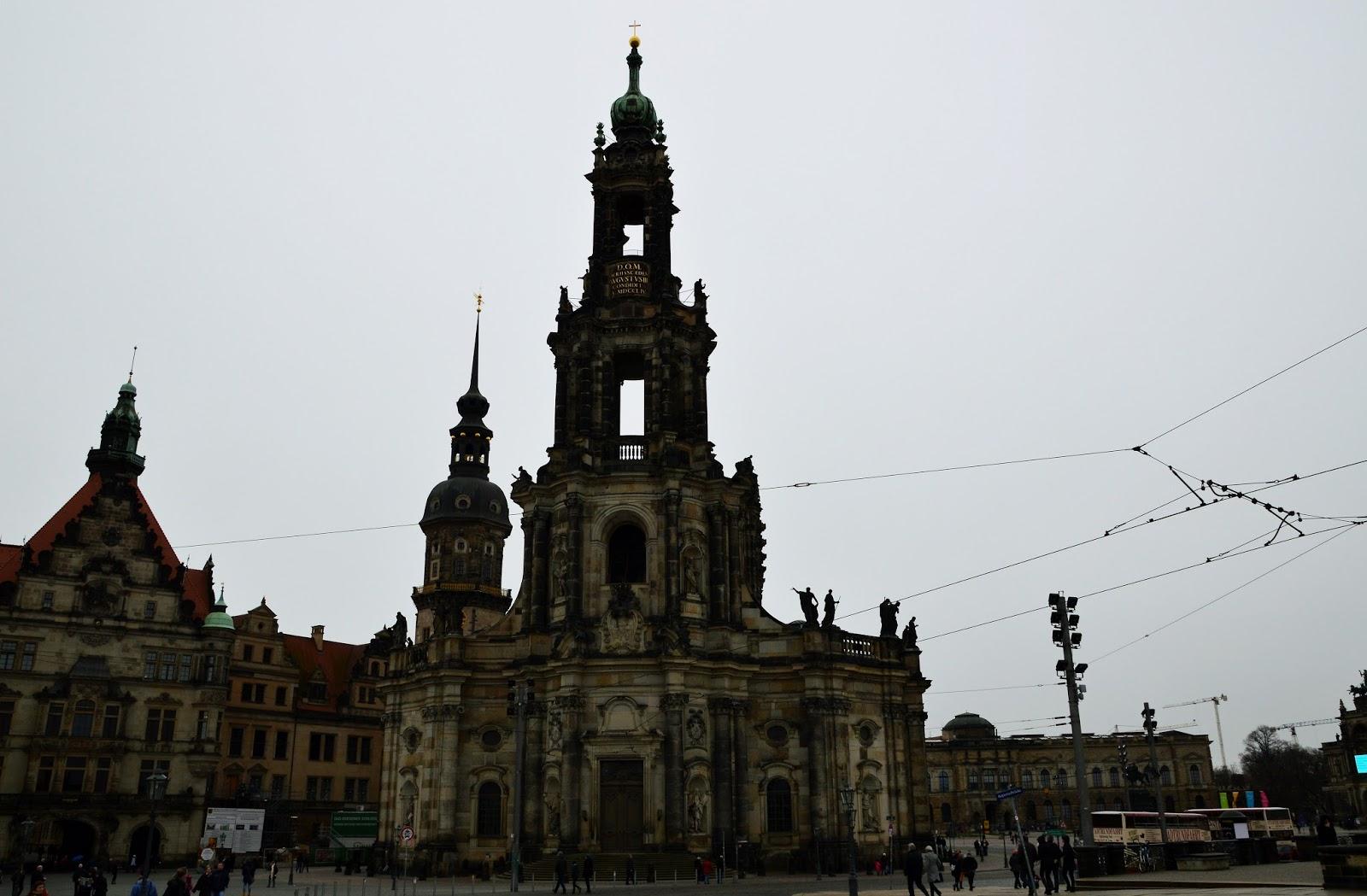 Drezno Hofkirche
