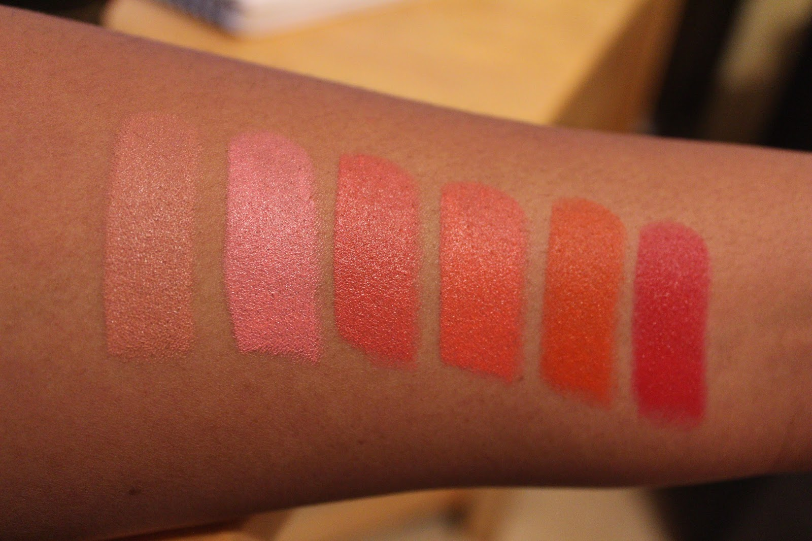 Sleek MakeUp Semi Matte Lipstick Lip VIP Swatches