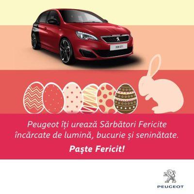 Peugeot iti ureaza Sarbatori Fericite