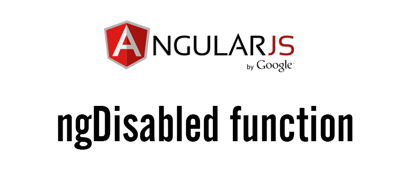angularjs disable dropdown using ngDisabled