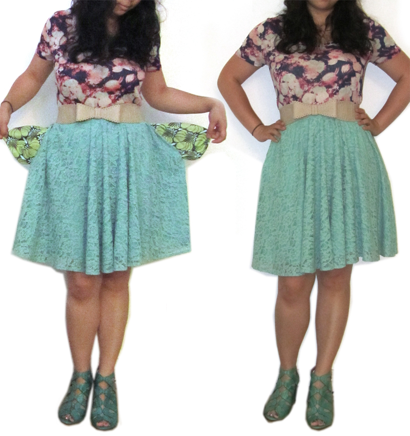 Kat-O-All-Trades: DIY Sewing Dress to Skirt Hack