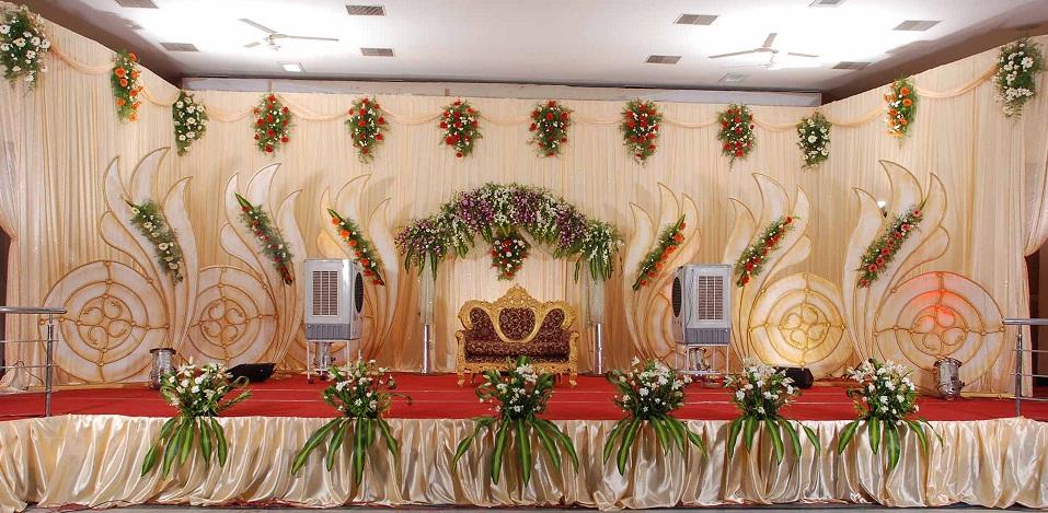 South Indian Wedding Decoration Ideas: Wedding Stage Decorators Birthday Event Organizers In