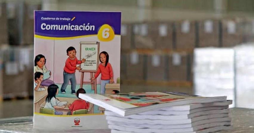 BUEN INICIO DEL AÑO ESCOLAR 2020: Ministerio de Educación inicia distribución de 34 millones de materiales educativos