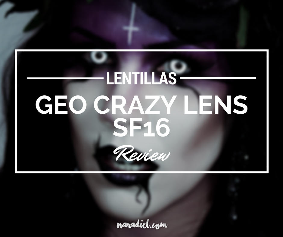 Lentillas GEO Crazy Lens SF16 de Uniqso