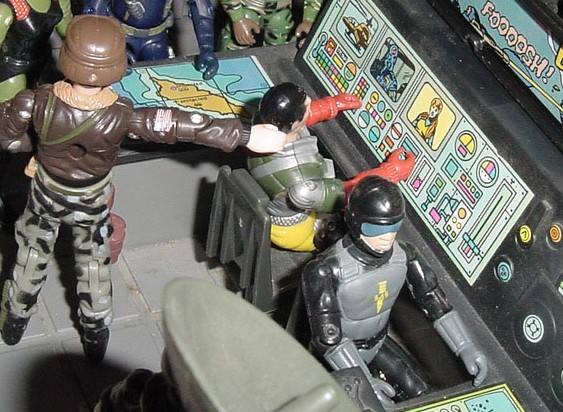 Action Force Blades, Tripwire, European Exclusive, Listen and Fun Tripwire, Tiger Force Psyche Out, TNT, Plastirama, Argentina, G.I. Joe HQ, 1994 Joseph Colton, 1985 Keel Haul, 2000 Tomahawk, Law