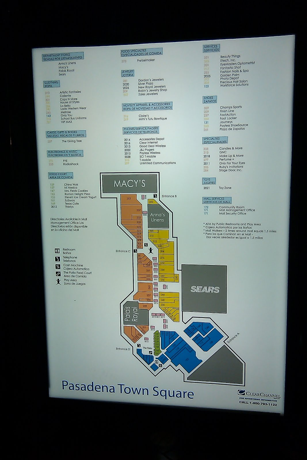 Deerbrook Mall Map | compressportnederland on
