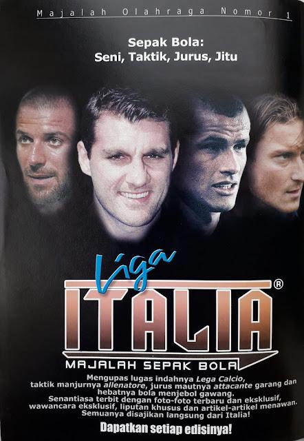 LIGA ITALIA MAJALAH SEPAKBOLA