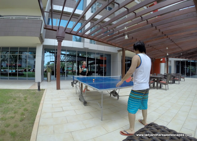 table tennis at Park Rotana